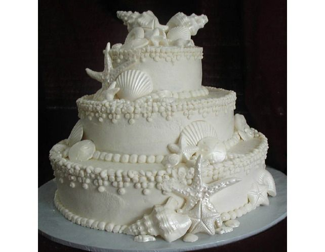 14 best cakes images on Pinterest Beach themes Beach cakes and