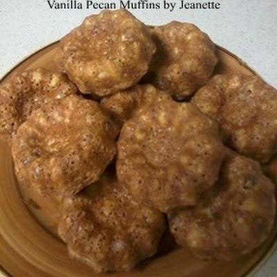 HCG Diet (P3) Vanilla Pecan Muffins