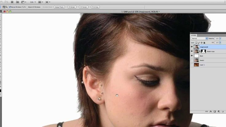 how to add texture to a selection in photoshop