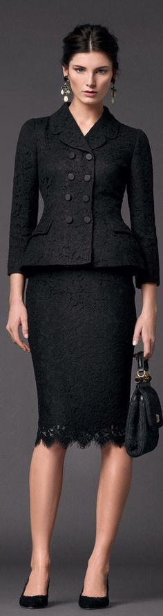 Dolce & Gabbana | Woman Collection F/W 2014                                                                                                                                                      Más