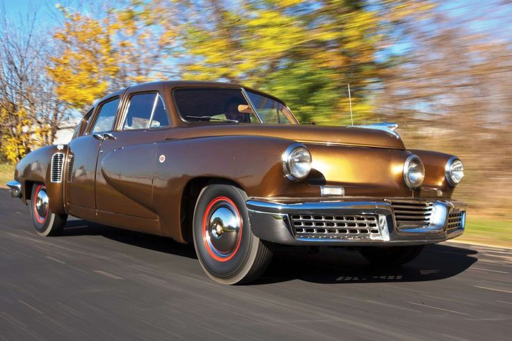 The story of Preston Tucker, the maverick car designer and his ill-fated challenge to the automotive... - Phil Greatorex/RM Sotheby's