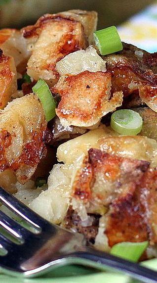 Rustic Twice Baked Potato Casserole
