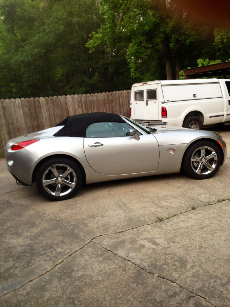 My Wife Toy 2007 Pontiac solstice GSP Turbo four-cylinder on steroids !!! ;-))ing..