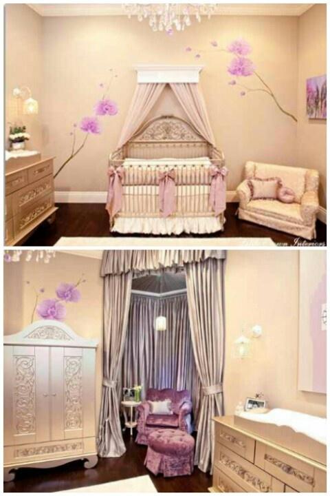 Nursery Idea for a baby girl