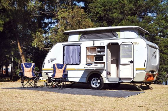 Loftus's En-Suite In September we reviewed Loftus Caravan City's limited-edition Sprite Swing En-Suite. Sales have been fantastic, but viewers in other parts of the country have begged for more info and pics. We called Woody Loftus for the lowdown.