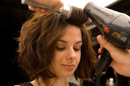 For short hair: , How to Get Tousled Wavy Hair for Every Length