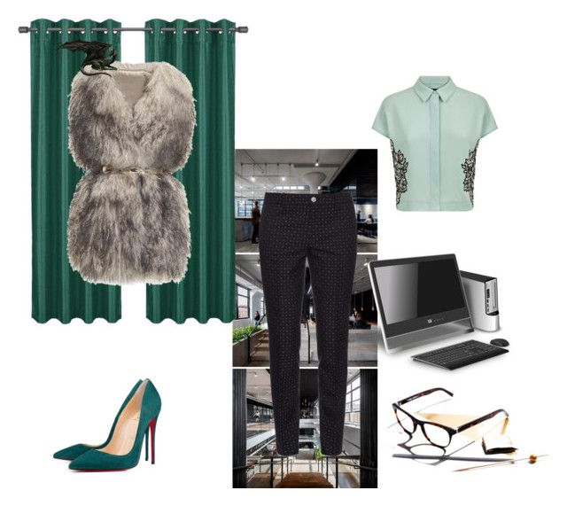 Office Outfit with a little dragon :) by gabri-ella on Polyvore