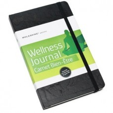 Moleskine Wellness Journal $39.95 - This stylish journal helps you to keep on track with your personal goals, exercise log, diet, general health, games/sport and inspirations.
