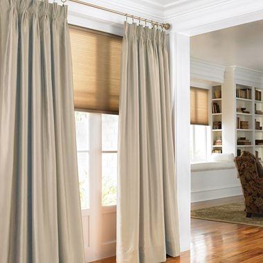 Chris Madden 174 Mystique Pinch Pleat Curtain Panel Pair