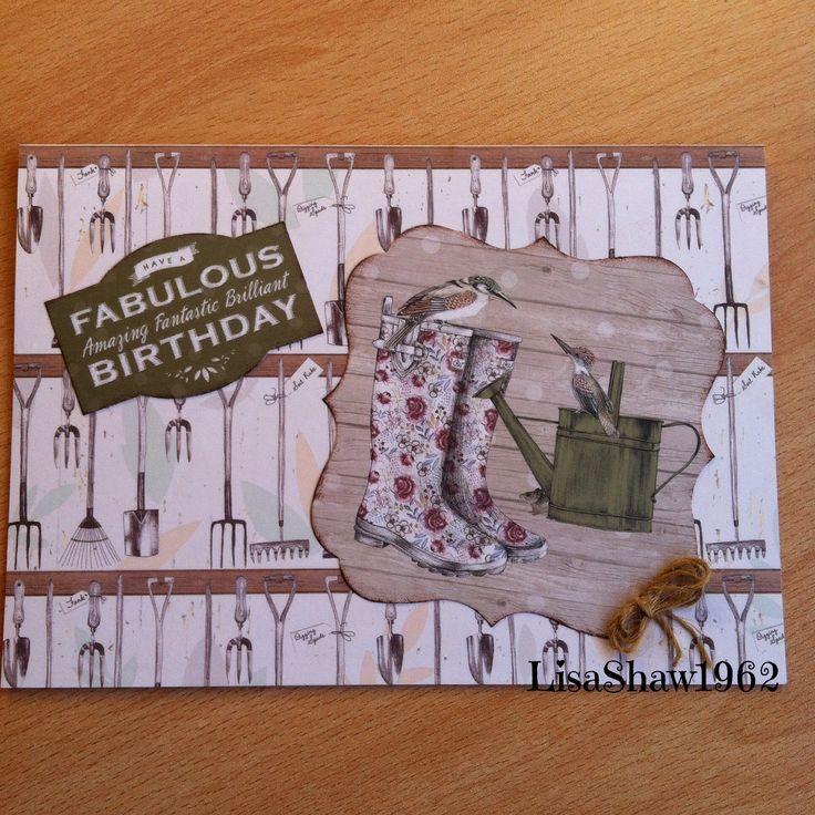 Craftwork cards:Potting Shed