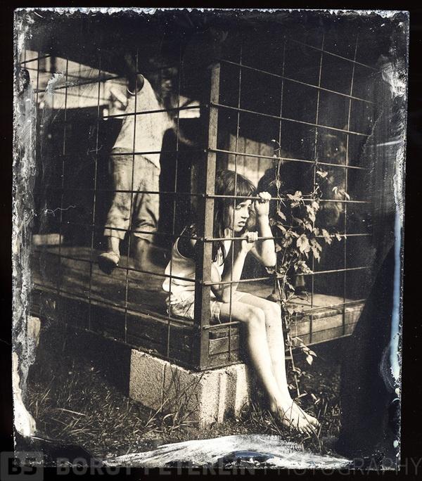 Wet Plate Collodion portraits by Borut Peterlin, via Behance