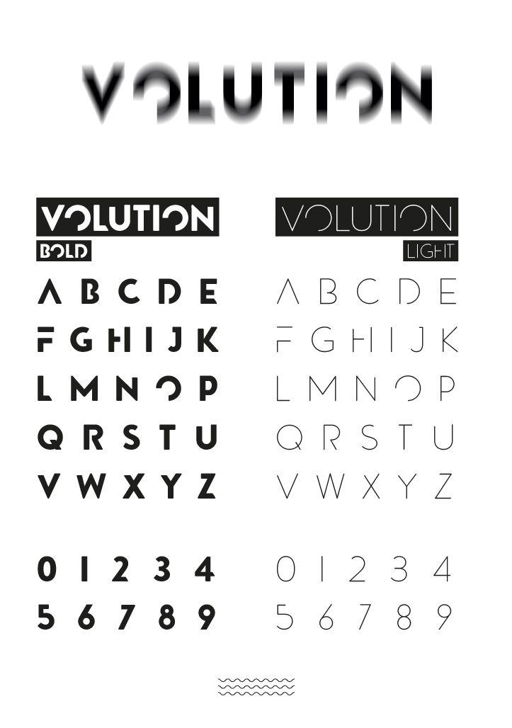 Volution Free Font