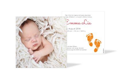Geburtskarte Emma