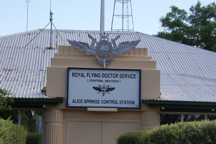 Royal Flying Doctor Service of Australia (RFDS) at Alice Springs