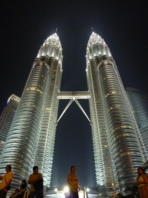 Les tours jumelles Petronas de Kuala Lumpur