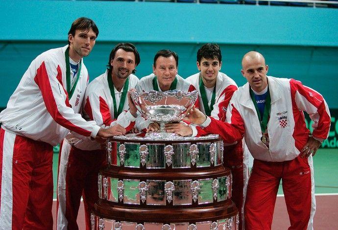 tênis copa davis croácia 2005 (Foto: Getty Images)