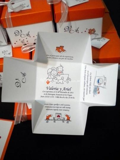 Cajitas de Invitación que reemplazan la clásica tarjeta de invitación a tu casamiento. Inceríbles!!! | Foto 10