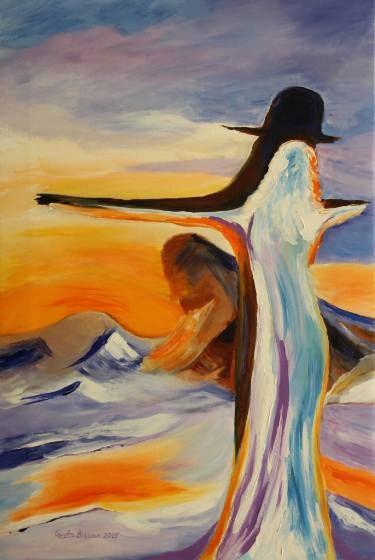 "Saatchi Art Artist Geeta Biswas; Painting, ""Frozen In Time"" #art #frozen #giftideas #thanksgiving #fineart #acrylic #artprints #conceptart"