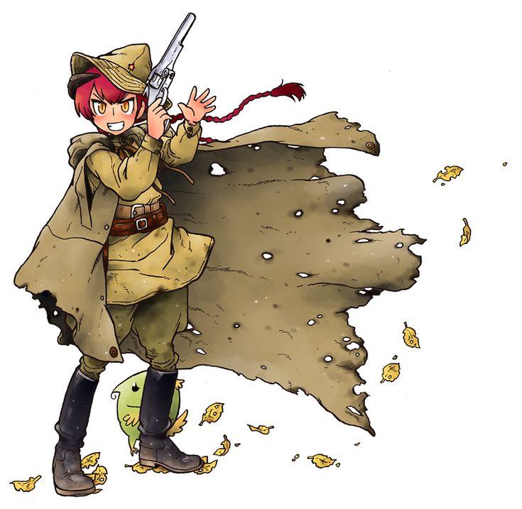 Кавайный милитаризм или Девушки с оружием (трафик!)