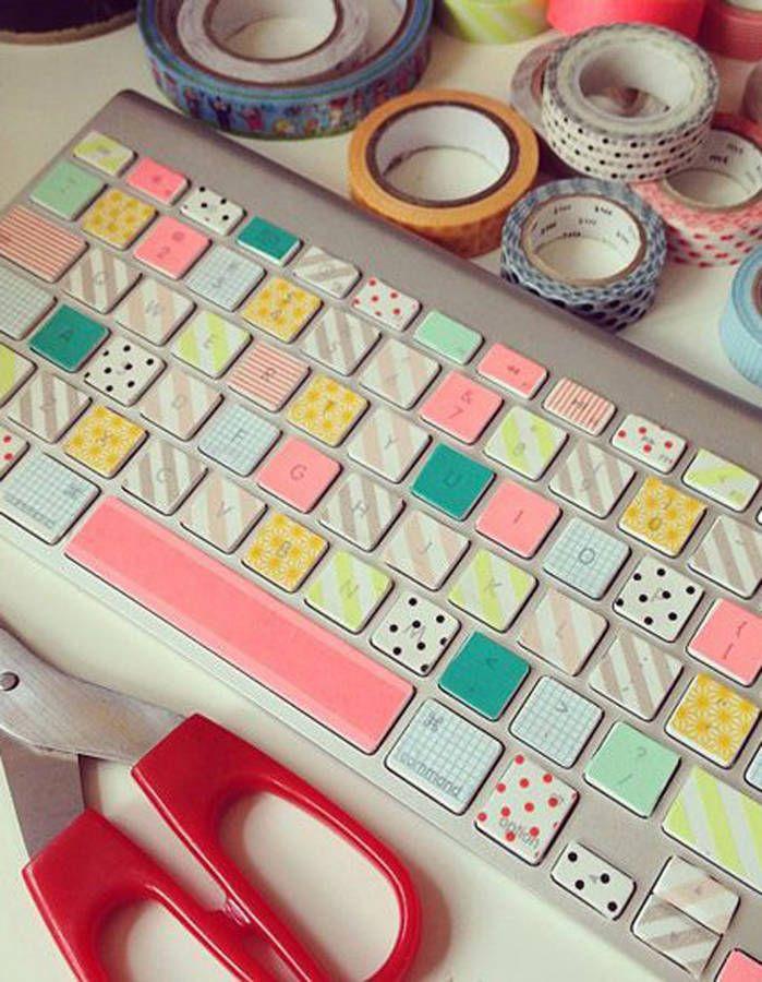 17 meilleures id es propos de clavier d 39 ordinateur sur - Qu est ce que le masking tape ...
