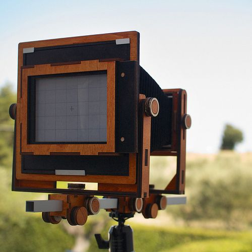 5x7 monorail camera | Homemade large format camera FACEBOOK … | Flickr