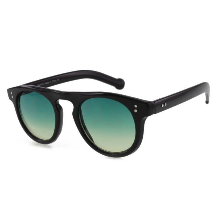 Unisex Sunglasses with Ocean Colored Lens