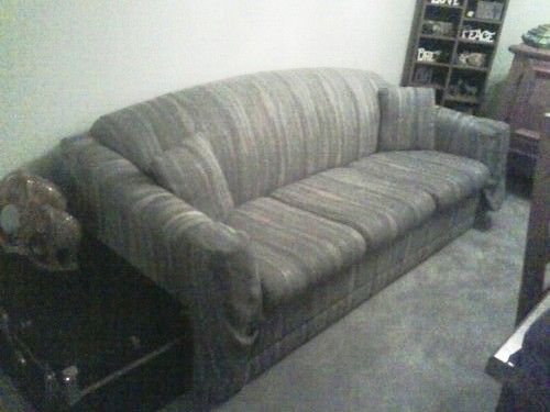 Queen Sized Sleeper Sofa In Independence_Amandau0027s Garage Sale In  Independence , MO For $150.00. Queen Sized Sleeper Sofa With Mattress. Grey  With U2026