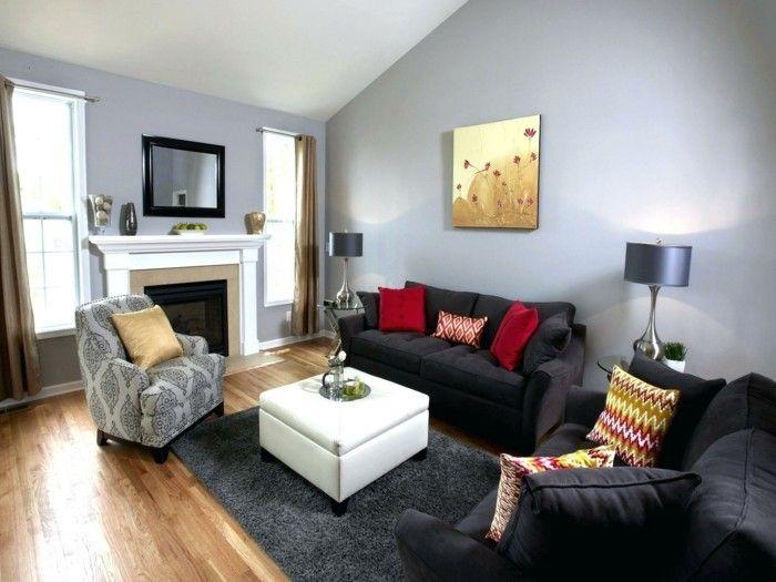Wohnzimmer Blau Grau Braun. Die Besten 25+ Wohnwand Braun Ideen