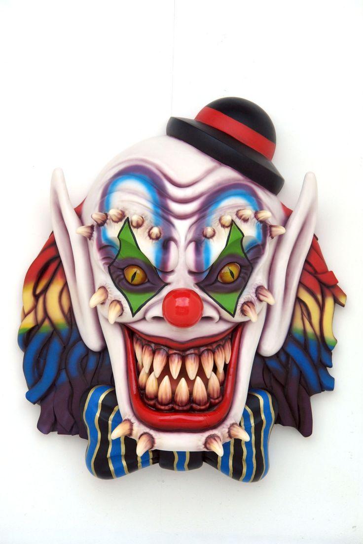 25+ best Evil clown mask ideas on Pinterest | Scary clowns, Evil ...