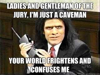 Unfrozen Caveman Lawyer, Police Academy, the Kool-Aid guy & other 80's references we love. And ranting.