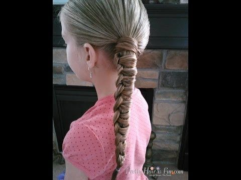How to do a Chinese Staircase Braided Ponytail |Pretty Hair is Fun - YouTube