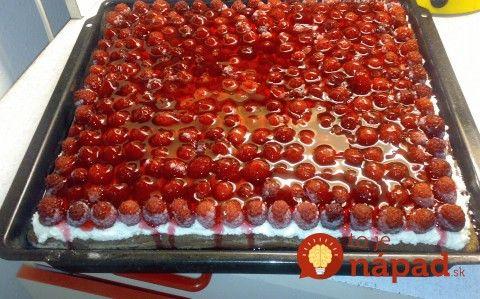 Výborná koláčik z prvej úrody malín: Je akurát sladký a osviežujúci!