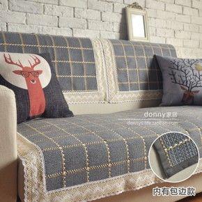 Хлопковая ткань подушки дивана подушку окна и средиземноморские сезоны занос коврик плед диван полотенце подгонять доставка - глобальная станция Taobao