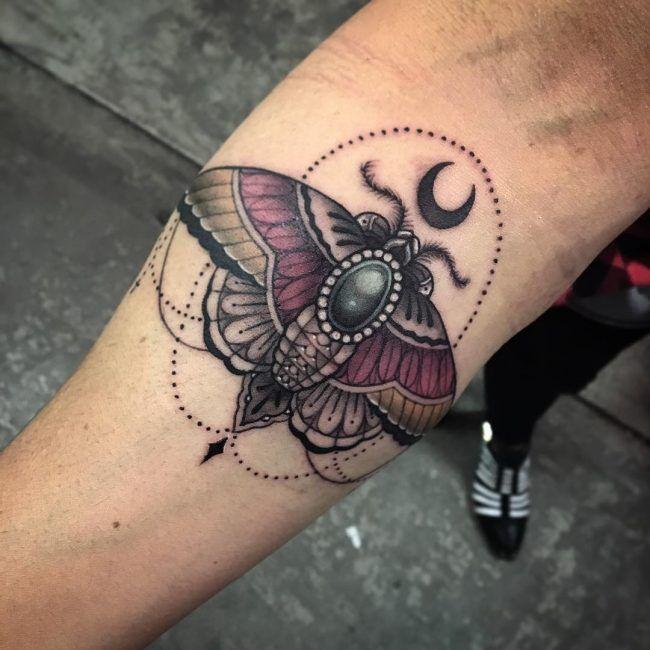 moth tattoo38
