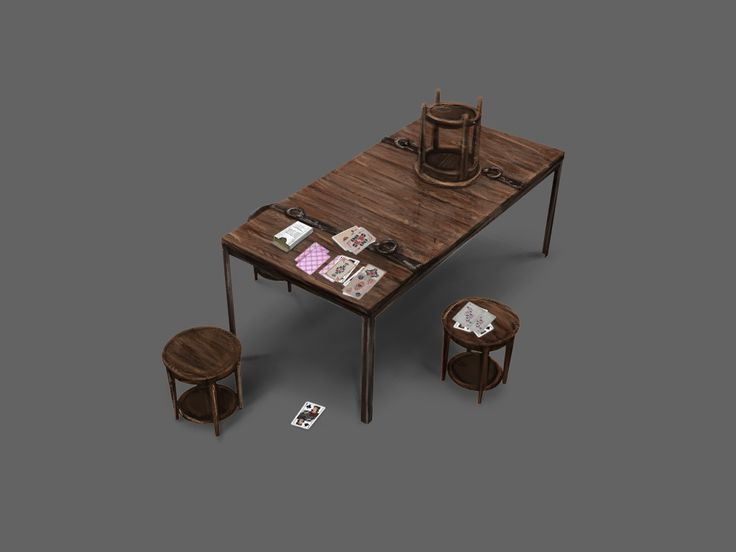 Project Discord - Indie Video Game ~ Table