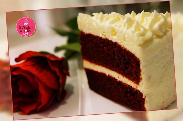 Red Velvet Cake by #sweetaholic
