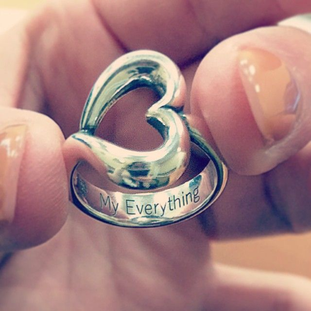 This James Avery customer added engraving to the Abounding Heart Ring to make it an extra special token of love. #JamesAvery