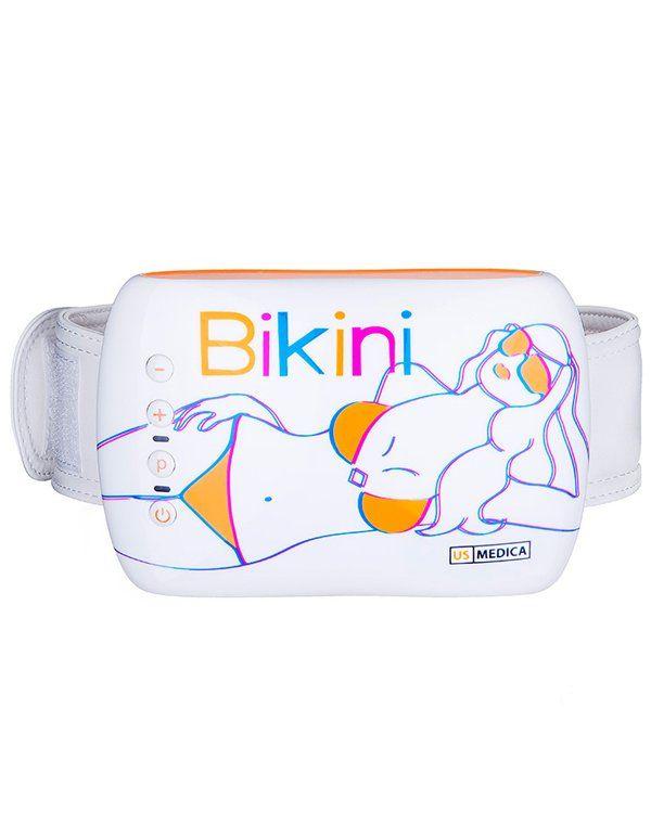 Пояс для похудения US Medica Bikini - электрический пояс вибромассажер для применения в домашних условиях. Купить вибропояс для похуденияx в интернет-магазине Созвездие Красоты с доставкой по Росcии