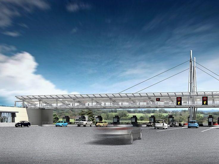 Gares de Péage Autoroute A89, Balbigny & Tarare Est – Camborde Architectes
