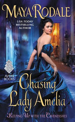 #ARCBookReview and #Giveaway: CHASING LADY AMELIA (Keeping Up with the Cavendishes #2) by Maya Rodale ~ Njkinny's World of Books & Stuff (NWoBS) http://www.njkinnysblog.com/2016/06/arcbookreview-and-giveaway-chasing-lady.html