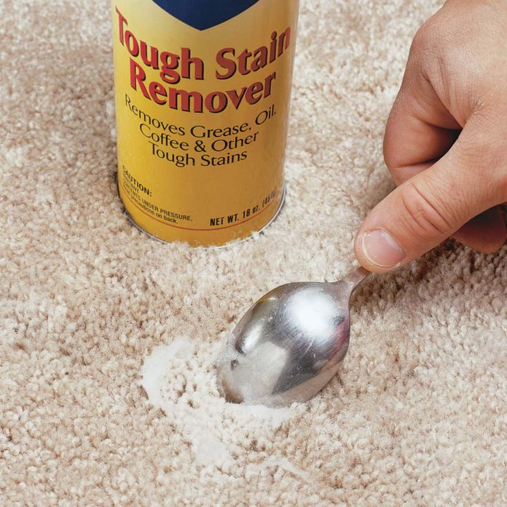 How to remove just about anything from carpet removing