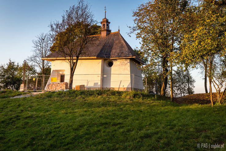 Kościół św. Benedykta (St. Benedict church) during the renovation, Wzgórze Lasoty, Kraków (Cracow), Poland