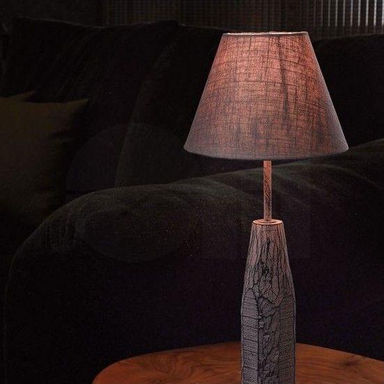 Βάση για επιτραπέζιο φωτιστικό πορτατίφ-λαμπατέρ μονόφωτο, σε vintage/αντικέ στυλ, από φυσικό ξύλο και ατσάλινο λαιμό. Συνδυάζεται με τα καπέλα της σειράς VINTAGE 1+1. ------------------- Table base, vintage / antique style, made of natural wood and steel neck. #wood #woodworking #madeofwood #table #tablescapes #tablelamp #tablelight #lamp #lampbase #vintage #vintagestyle #φωτιστικο
