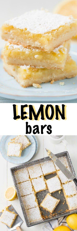 Classic Lemon Bars | Recipe