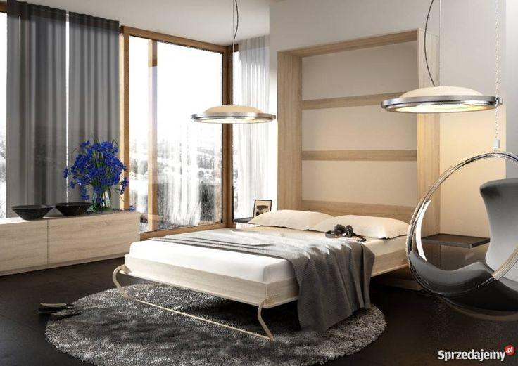 Łóżko chowane w szafie Pólkotapczan 4 Kolory 213cm Warszawa