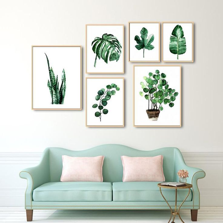 Green Leaves Canvas Prints