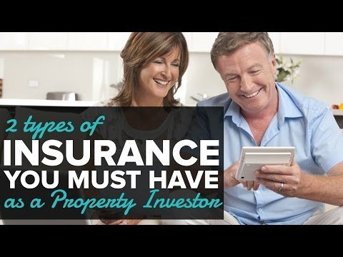 2 Types of Insurance you MUST have as a Property Investor.    [sociallocker][/sociallocker] In 60 seconds Sasha Hopkins tell us what type of insurance you must have if you want to be a property investor. source