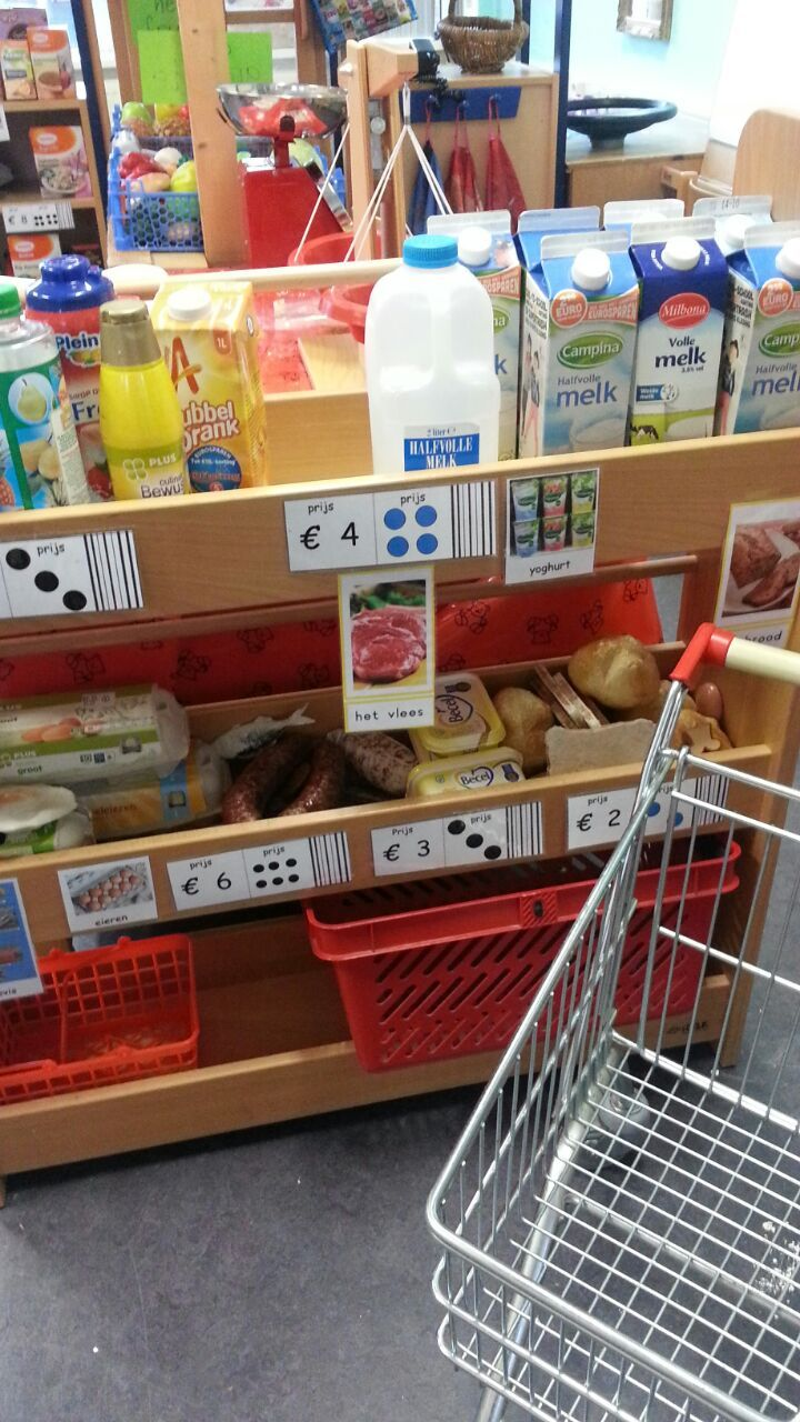 de supermarkt
