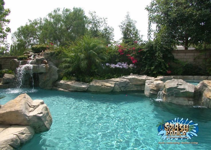 13 Best Rock Swimming Pools Artificial Rock Images On Pinterest Pool Construction Swimming