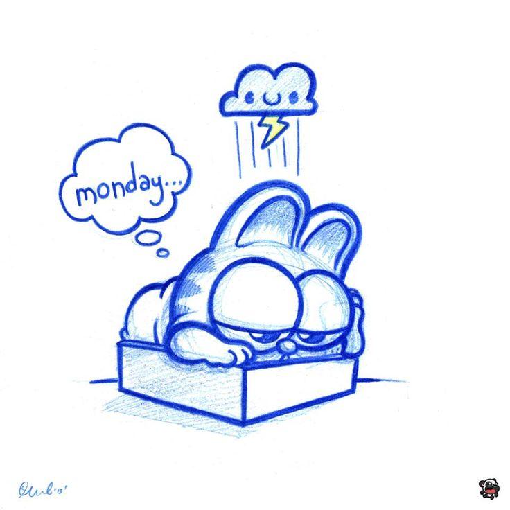 "PodgyPanda - Garfield ""I hate Mondays"""